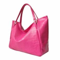 Большая женская сумка  3030   фуксия