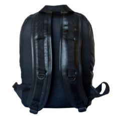 Кожаный городской рюкзак Маджионе черный фото-2