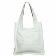 Сумка женская пакет из белой кожи 3052.1