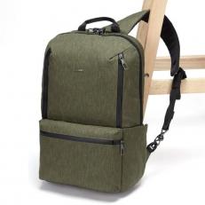 Рюкзак антивор Metrosafe X ECO хаки фото-2
