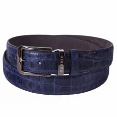 Кожаный ремень Narvin by Vasheron 31079 Crocco Blue