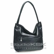 Классическая черная женская сумка 3134