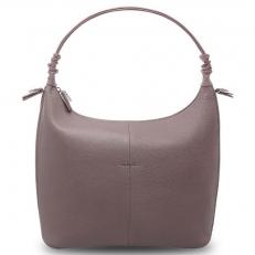 Женская сумка хобо из кожи цвета лаванды 31460E