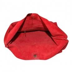 Сумка-мешок красная 3156 фото-2