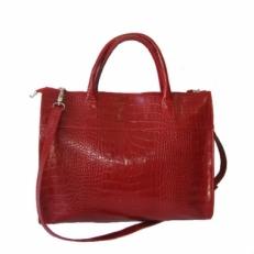 Сумка-папка женская 3257 красная