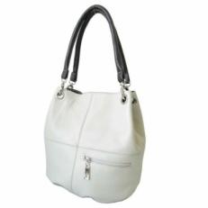 Кожаная сумка мешок 3279