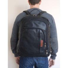Классический мужской рюкзак Марсано черный фото-2