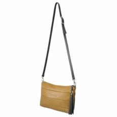 Мягкая женская сумка 3309 горчица фото-2
