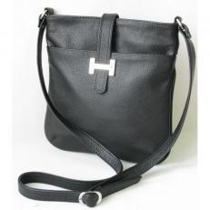 Черная женская сумка планшет 3312