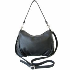 Женская кожаная сумочка 3314 черная
