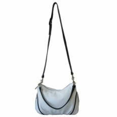Женская кожаная сумочка 3314 белая фото-2