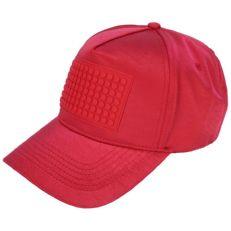 Бейсболка пиксельная красный металлик NH023 M