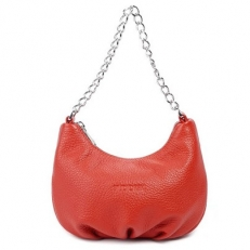 Красная сумочка с цепочкой 3332