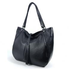 Кожаная женская сумка на плечо 3347
