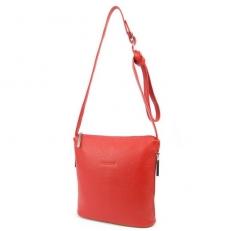 Маленькая красная сумочка через плечо 3503