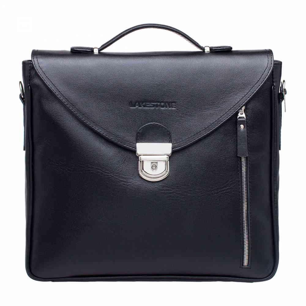 Мягкий портфель Clifton черный
