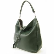Кожаная сумка-мешок 3634