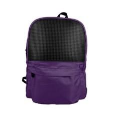 Фиолетовый пиксельный рюкзак для школы WY-A013 фото-2