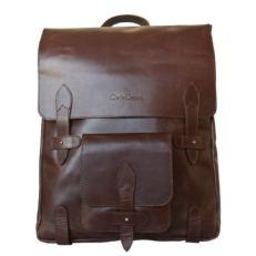 Тонкий городской  рюкзак Арма коричневый фото-2