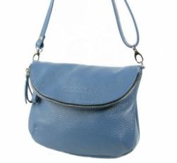 Кожаная сумка KSK 401.2 джинс