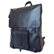 Тонкий мужской рюкзак Арма темно- синий