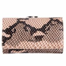 Кожаный кошелек 018C-A287-B серый