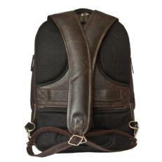 Рюкзак мужской антивор Сольферино коричневый фото-2