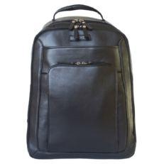 Кожаный рюкзак Монтеморо черный фото-2