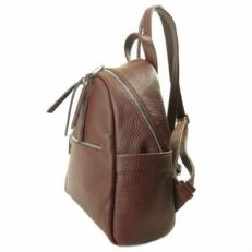 Коричневый рюкзак из кожи 5014 фото-2
