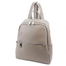 Бежевый женский рюкзак 5045