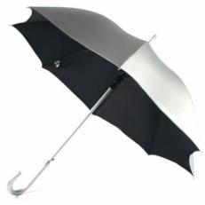 Зонт Zest 51660 серебряно-черный
