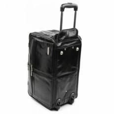Дорожная сумка на колесах Vip Collection черная