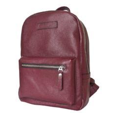Бородовый женский кожаный рюкзак Анцолла