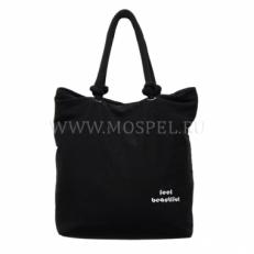 Пляжная сумка 10051-BE черная