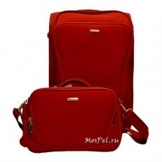 Комплект чемодан и кейс ProtecA красный