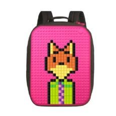 Женский пиксельный рюкзак WY-A001 фуксия фото-2