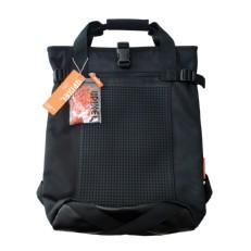 Черный молодежный рюкзак с пиксельной панелью BY-NB018