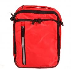 Красная мужская сумка 60004