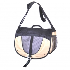Спортивная сумка 60063 бежевая