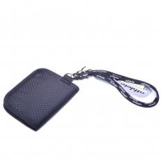 Мужской текстильный кошелек 60094 черный фото-2