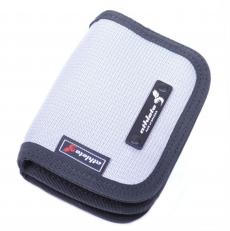 Текстильный кошелек 60135 серый