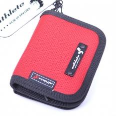 Текстильный кошелек 60135 красный