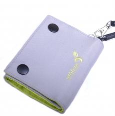 Спортивный кошелек на кнопках 60142 серый