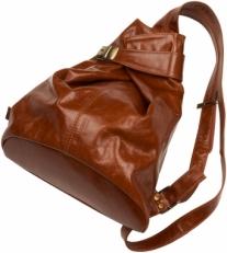 Сумка-рюкзак 5105 коньяк