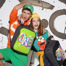Подростковый рюкзак WY-A001 зеленый фото-2