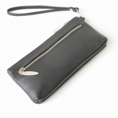 Сумка-кошелек 6501 черная фото-2