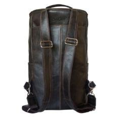 Кожаный рюкзак Томба коричневый фото-2