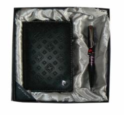 Подарочный Набор: Обложка для паспорта и ручка PS1138BI
