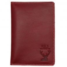 Бумажник водителя Romero бордовый