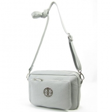 Женская сумка 7033 светло-серая